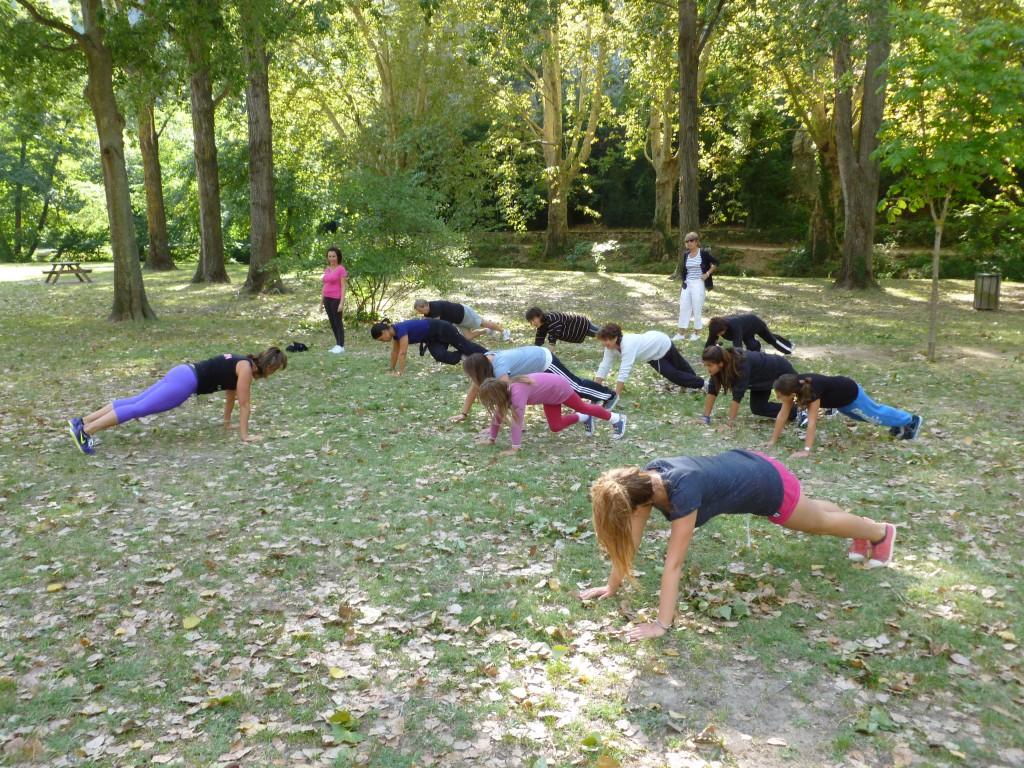 Pilates in the park dimanche 2 sept 2012